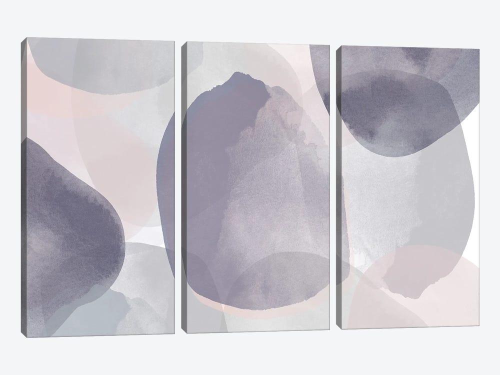 Minimalist Pink Purple Palette I by Irena Orlov 3-piece Canvas Art