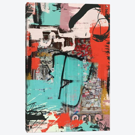 The Puzzle II Canvas Print #ORL627} by Irena Orlov Art Print