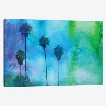 Tropical Morning Canvas Print #ORL62} by Irena Orlov Canvas Wall Art