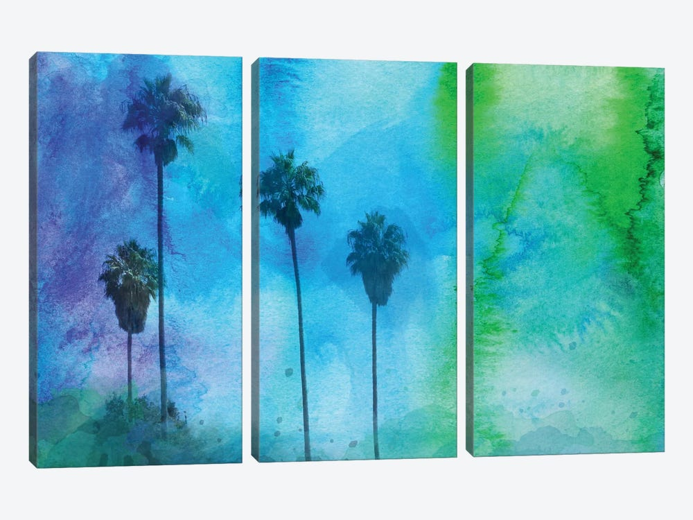 Tropical Morning by Irena Orlov 3-piece Canvas Wall Art