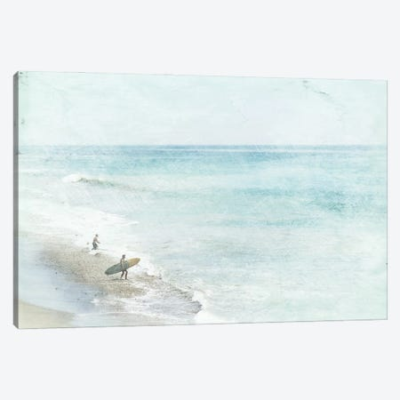 Surfing IX Canvas Print #ORL645} by Irena Orlov Art Print