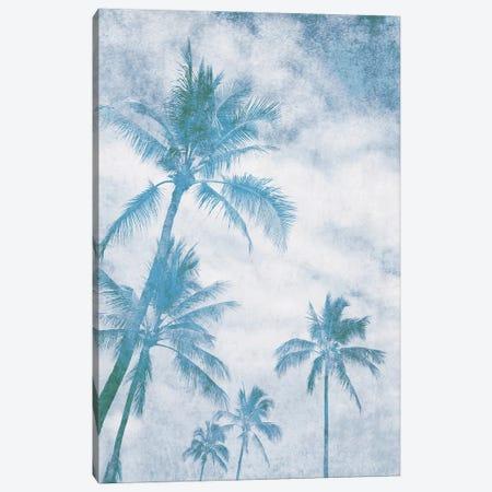 California Blue Beach Palm Trees I Canvas Print #ORL646} by Irena Orlov Canvas Art Print
