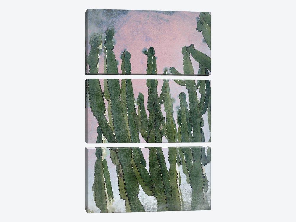 Desert Cactus I by Irena Orlov 3-piece Canvas Artwork