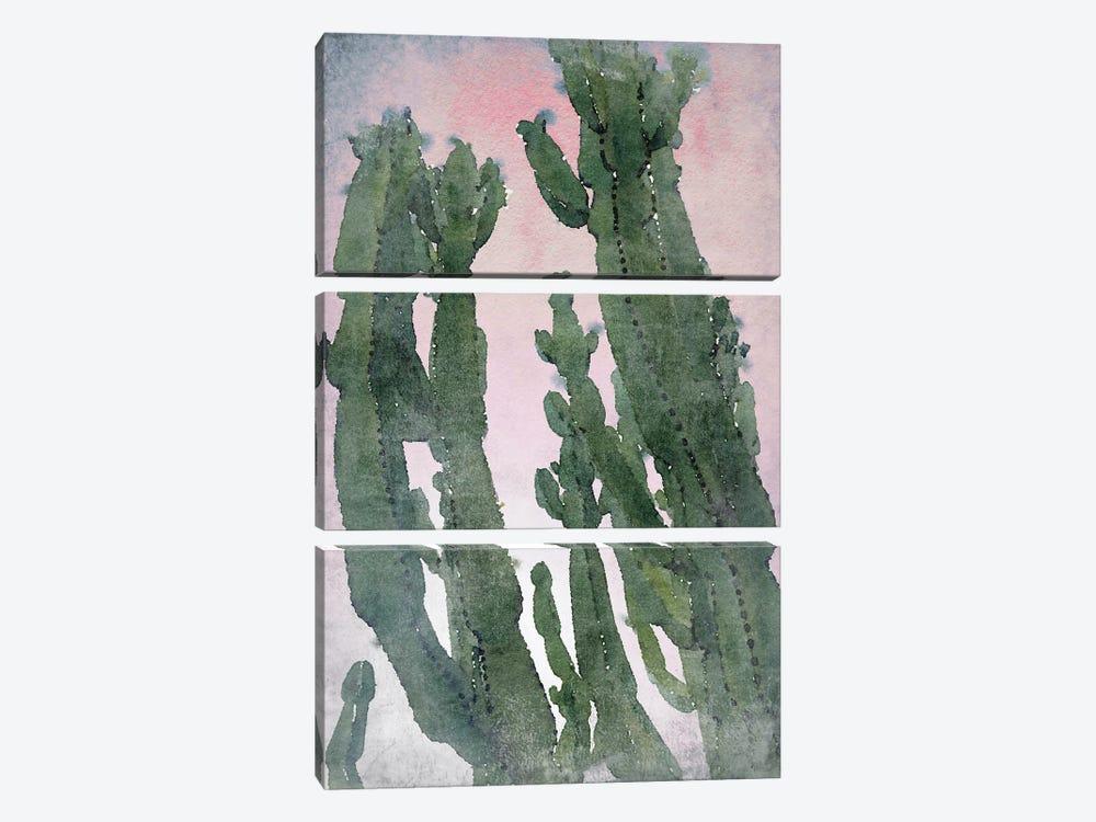 Desert Cactus II by Irena Orlov 3-piece Canvas Print