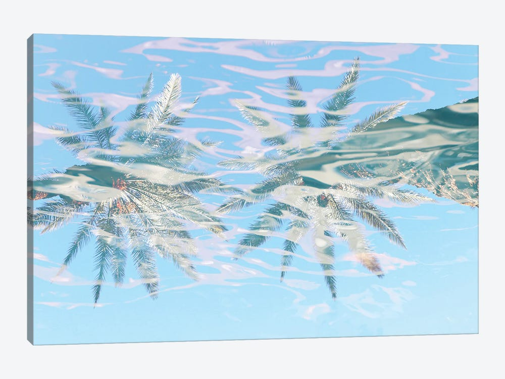In Harmony With Nature - Palms Reflection VIII by Irena Orlov 1-piece Canvas Wall Art