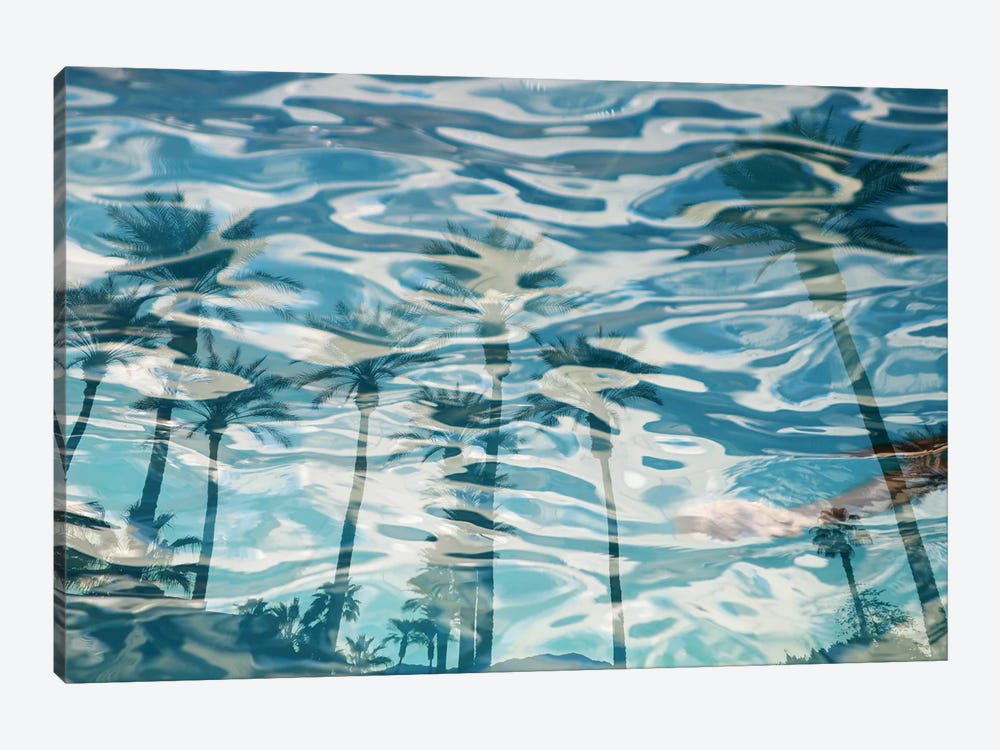In Harmony With Nature - Palms Reflection XV by Irena Orlov 1-piece Art Print