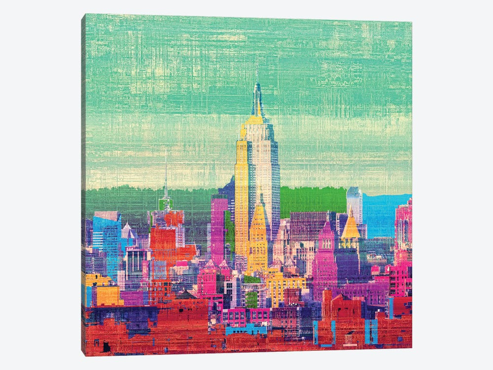 Colorful New York I by Irena Orlov 1-piece Canvas Wall Art