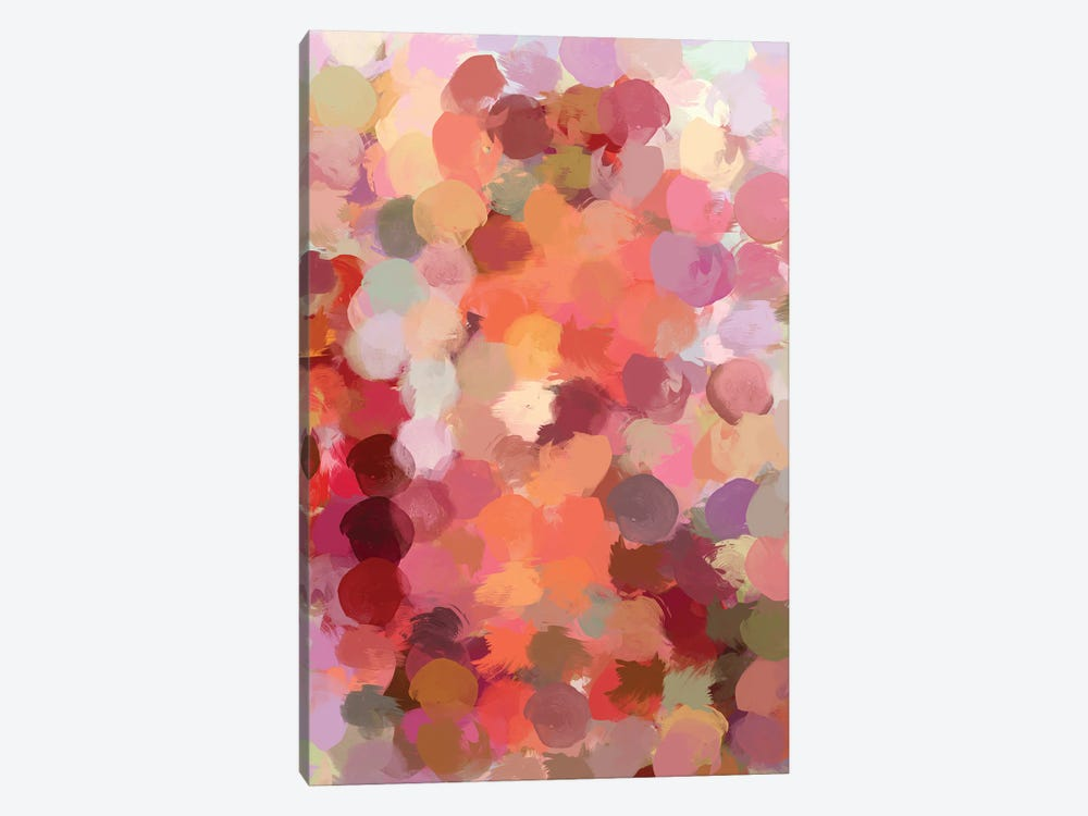 Bohemian Color Expression by Irena Orlov 1-piece Canvas Artwork