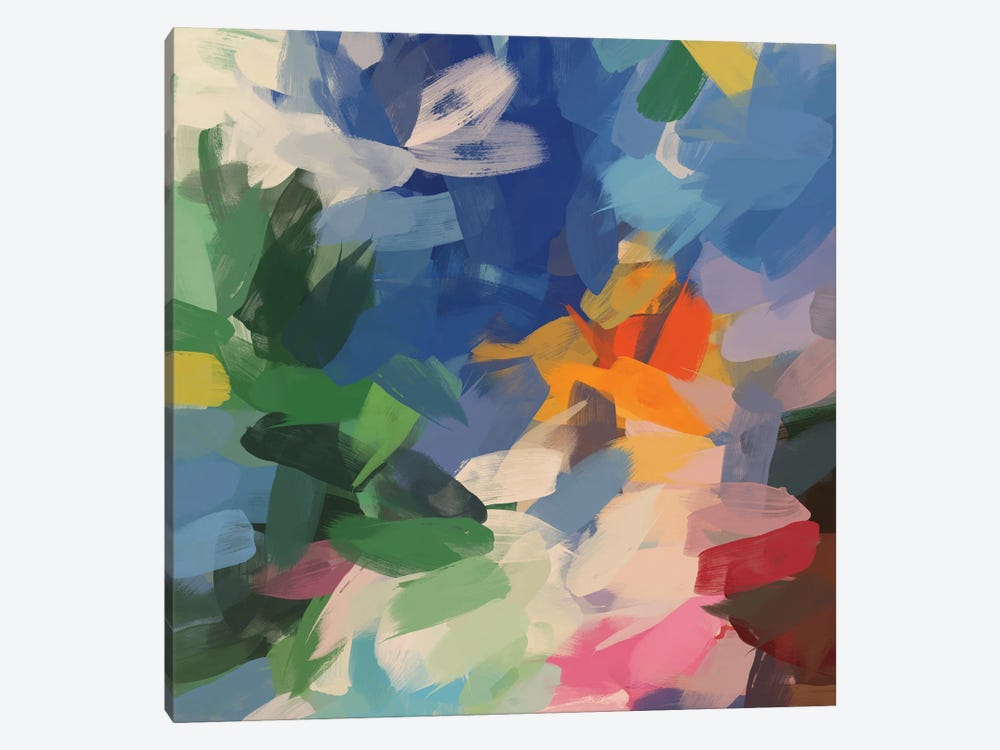 Colorful Chaos 2 by Irena Orlov 1-piece Art Print