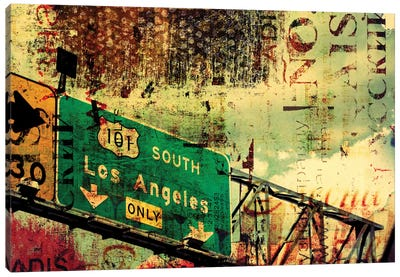 101 South Canvas Art Print