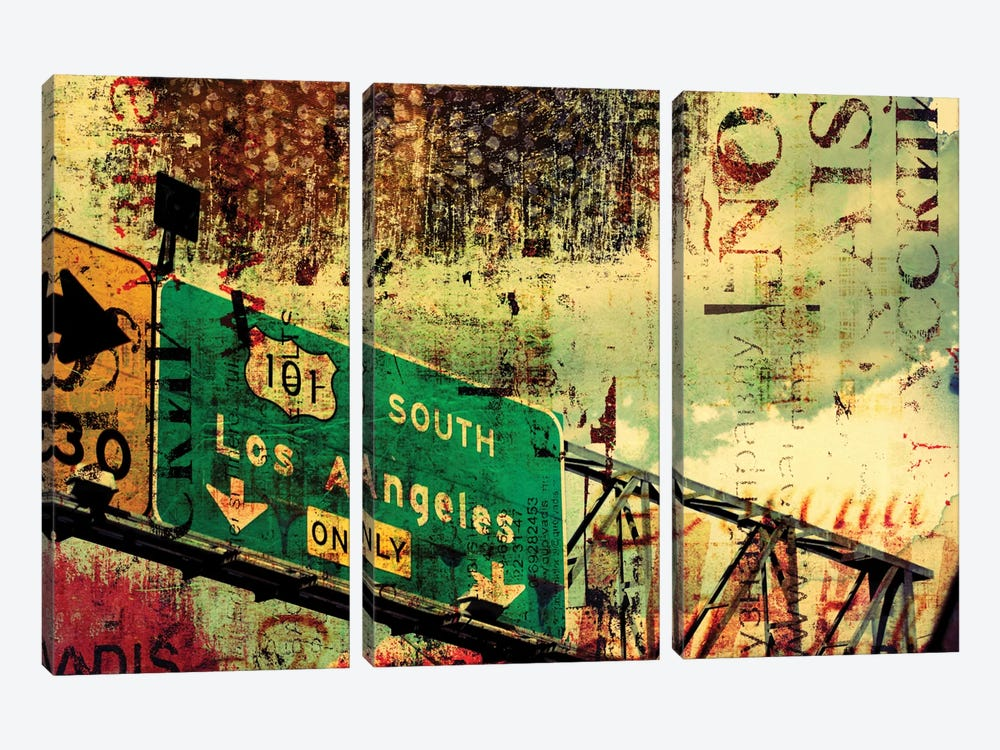 101 South by Irena Orlov 3-piece Canvas Wall Art