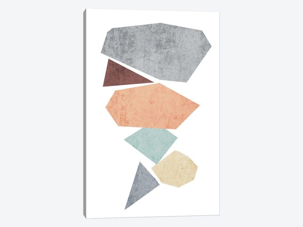 Geometric Shapesc5 by Irena Orlov 1-piece Canvas Art Print