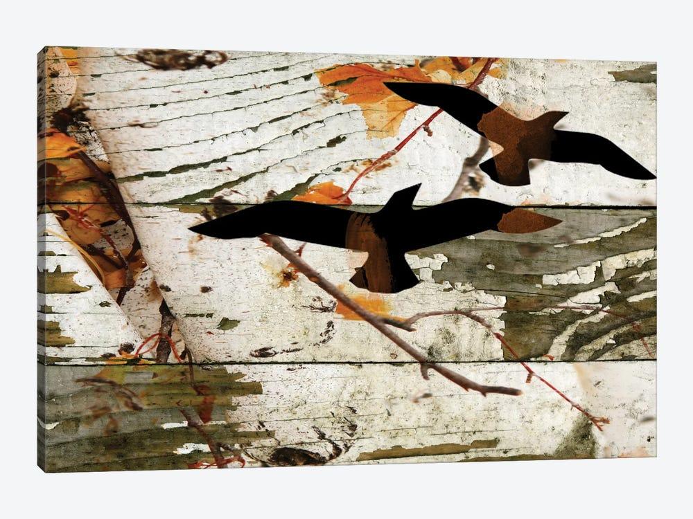 Birds On A Birch I by Irena Orlov 1-piece Canvas Print