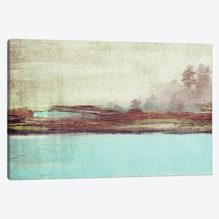 Blue Landscape 3-Piece Canvas #ORL6} by Irena Orlov Canvas Artwork