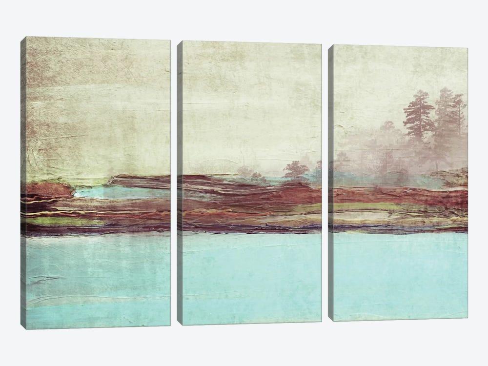 Blue Landscape by Irena Orlov 3-piece Canvas Artwork
