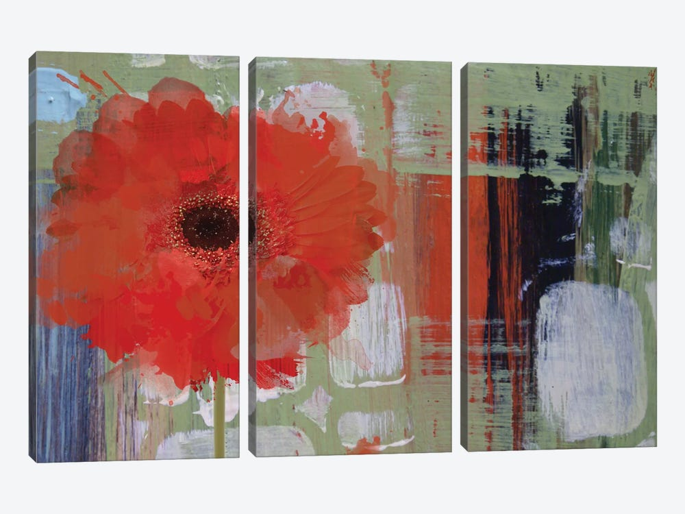Blooming by Irena Orlov 3-piece Canvas Print