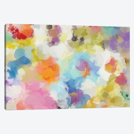 Playful Movement 46 Canvas Print #ORL739} by Irena Orlov Canvas Art