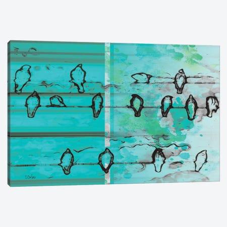 Blue Magic Canvas Print #ORL73} by Irena Orlov Canvas Print
