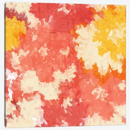 September Orange I Canvas Print #ORL744} by Irena Orlov Canvas Art
