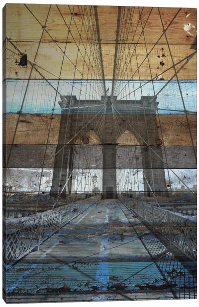 Brooklyn Bridge, NYC Canvas Print #ORL74