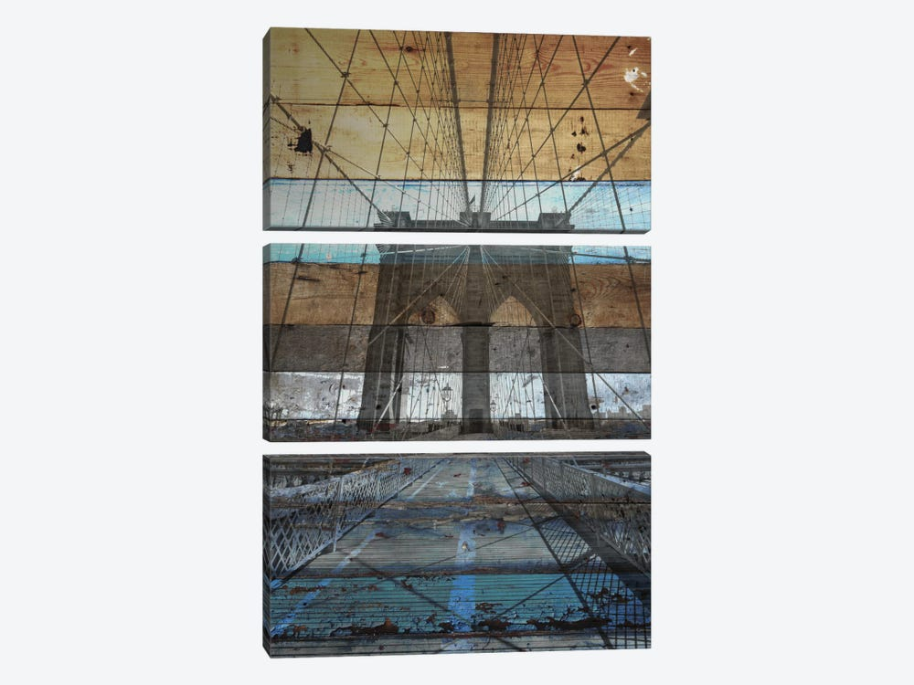 Brooklyn Bridge, NYC by Irena Orlov 3-piece Canvas Print