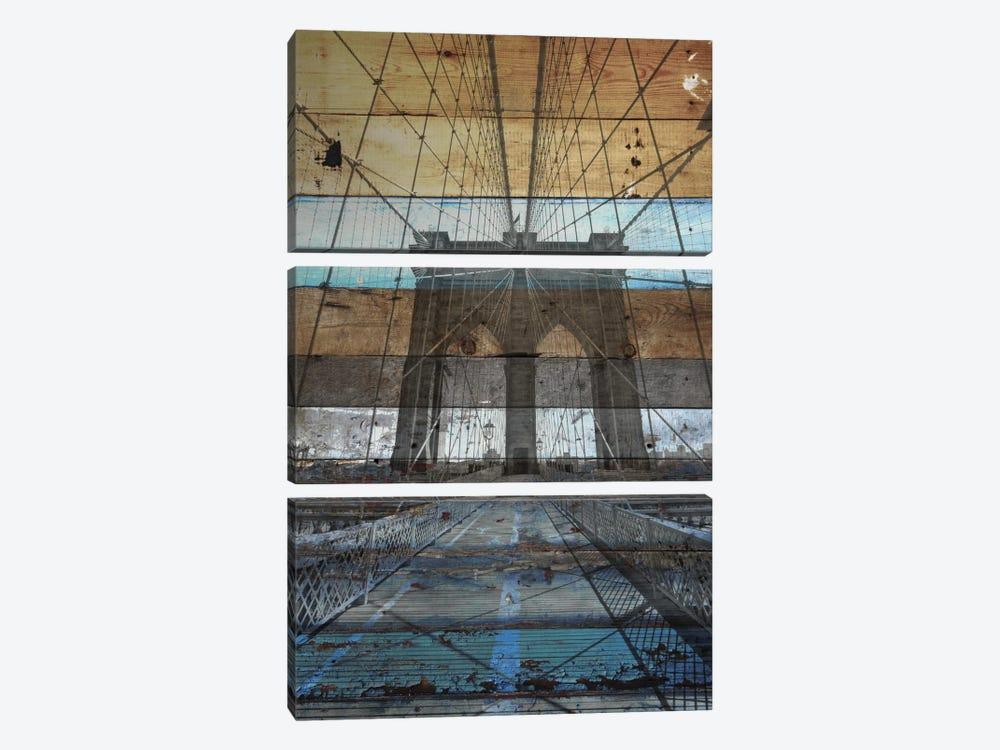 Brooklyn Bridge, NYC by Irena Orlov 3-piece Canvas Print