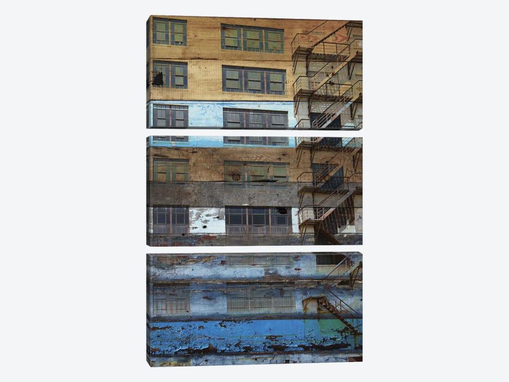 Building II by Irena Orlov 3-piece Canvas Art Print