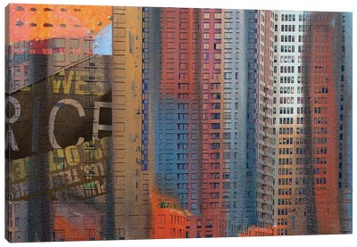 Buildings Of New York Canvas Print #ORL77