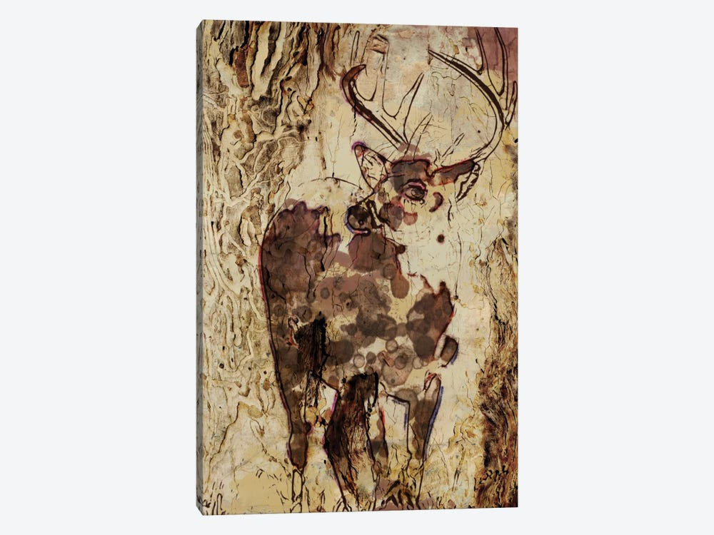 Deer In The Forest by Irena Orlov 1-piece Art Print