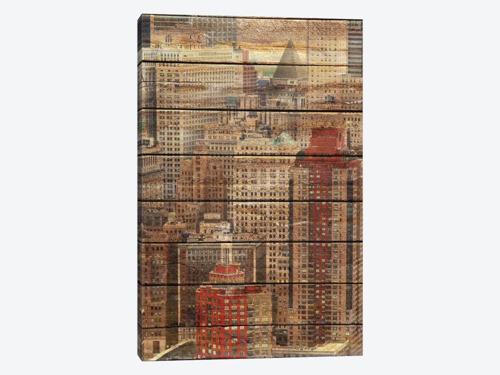 Downtown New York by Irena Orlov 1-piece Canvas Artwork