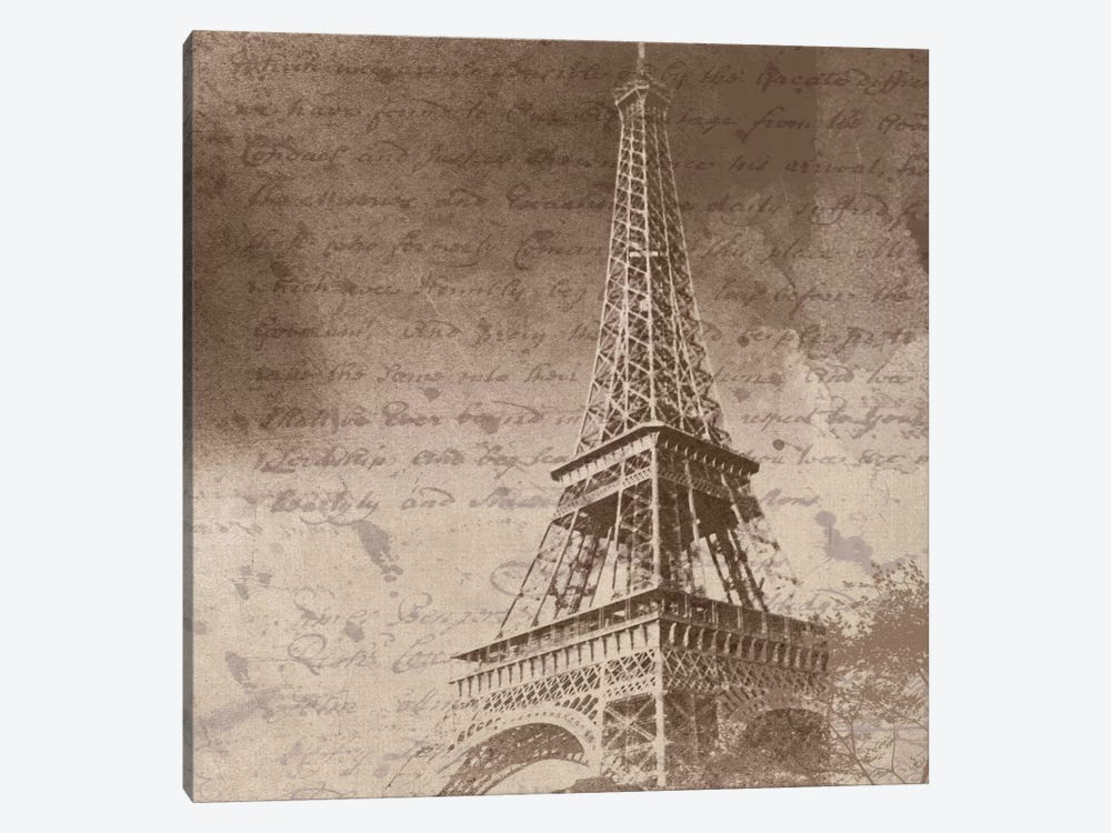 Eiffel Tower I by Irena Orlov 1-piece Canvas Wall Art