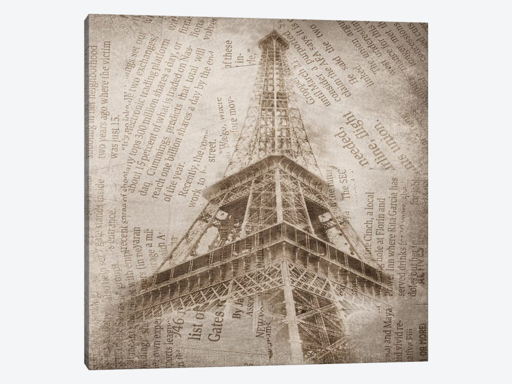 Eiffel Tower II by Irena Orlov 1-piece Canvas Print