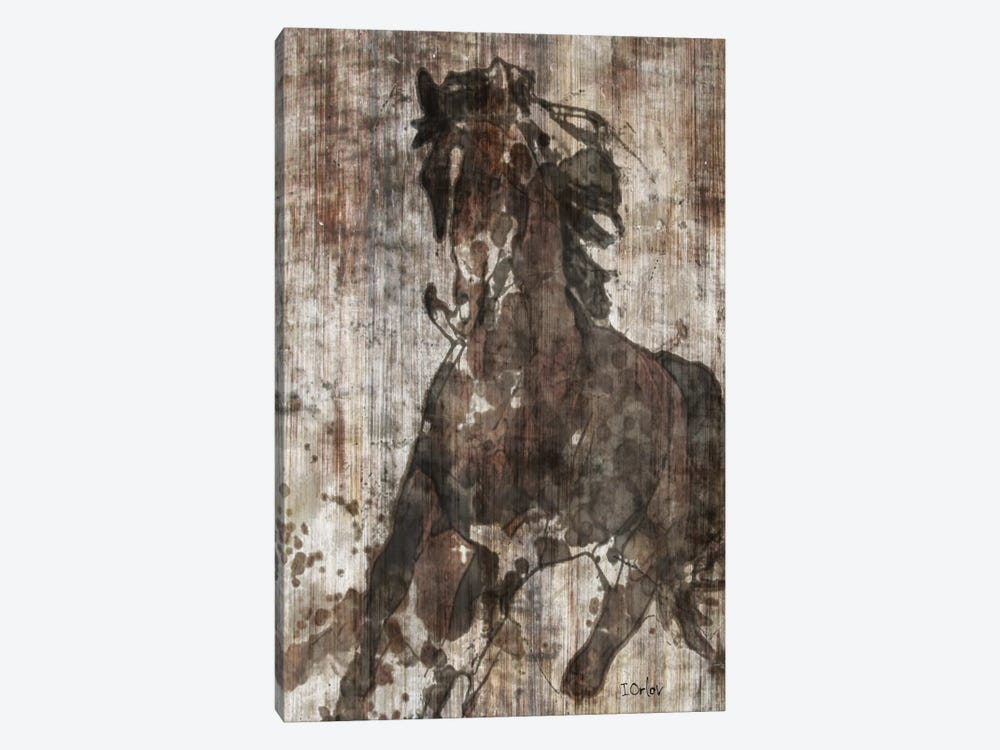Galloping Horse by Irena Orlov 1-piece Canvas Print