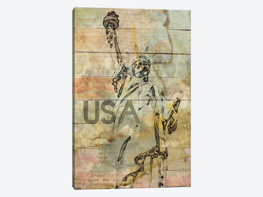 Lady Liberty by Irena Orlov 1-piece Canvas Art