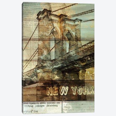 Brooklyn Bridge, New York City, New York Canvas Print #ORL8} by Irena Orlov Art Print