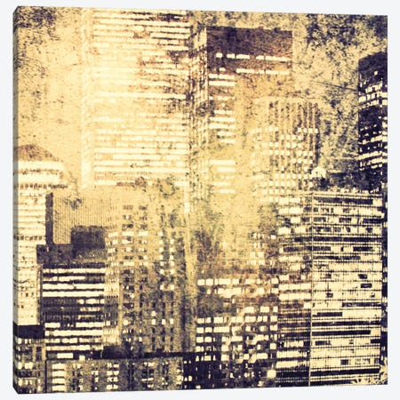 New York City View IV 3-Piece Canvas #ORL93} by Irena Orlov Art Print