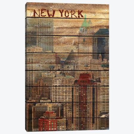 New York III Canvas Print #ORL94} by Irena Orlov Canvas Wall Art