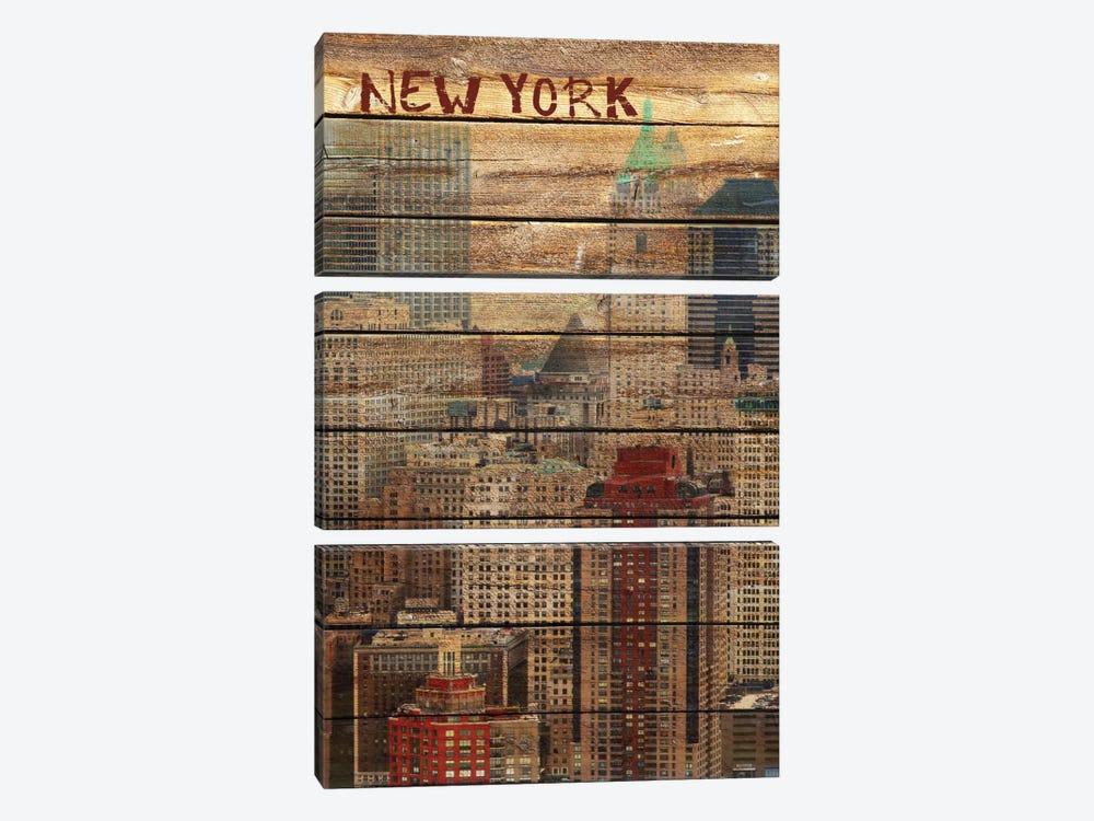 New York III by Irena Orlov 3-piece Canvas Print