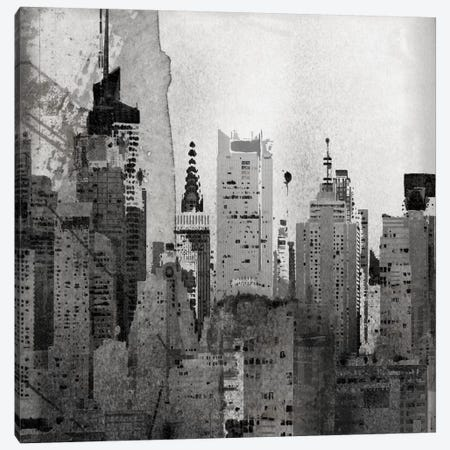 NYC, Lost In Time Canvas Print #ORL95} by Irena Orlov Canvas Artwork