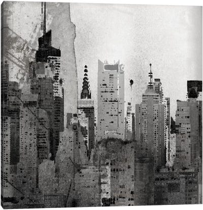 NYC, Lost In Time Canvas Art Print