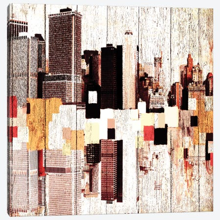 NYC's Colorful Downtown I Canvas Print #ORL98} by Irena Orlov Canvas Print