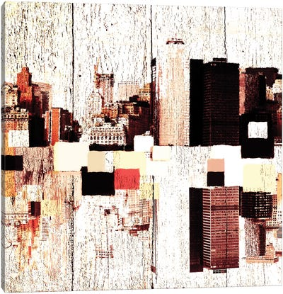 NYC's Colorful Downtown II Canvas Print #ORL99