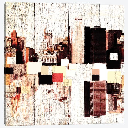 NYC's Colorful Downtown II Canvas Print #ORL99} by Irena Orlov Canvas Art Print