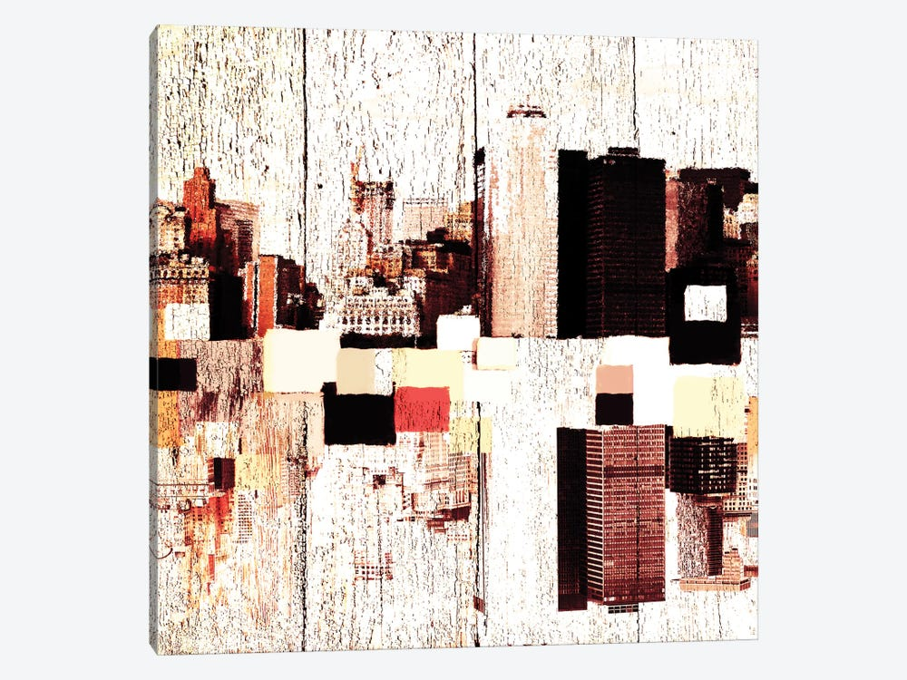 NYC's Colorful Downtown II by Irena Orlov 1-piece Canvas Art