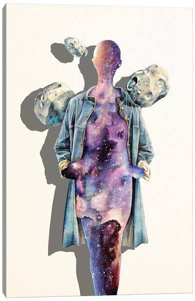 All Spaced Out Canvas Art Print