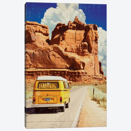 Arizona Crusin Canvas Print #ORT100} by Old Red Truck Canvas Print