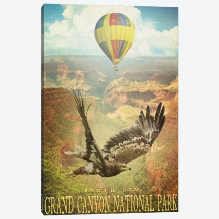Canyon Rim Canvas Print #ORT107} by Old Red Truck Canvas Art