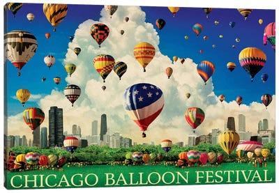 Chicago Balloon Fest Canvas Art Print