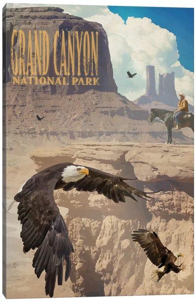 Eagle Rise Grand Canyon Canvas Art Print