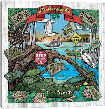 Everglades100 Canvas Art Print